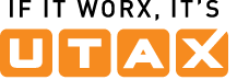 UTAX GmbH if it worx its UTAX logo